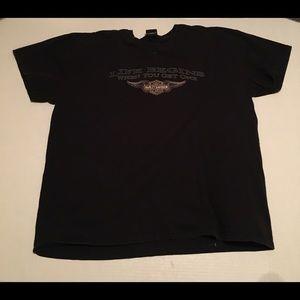 Harley Davidson Black XXXL Denver Colorado T Shirt